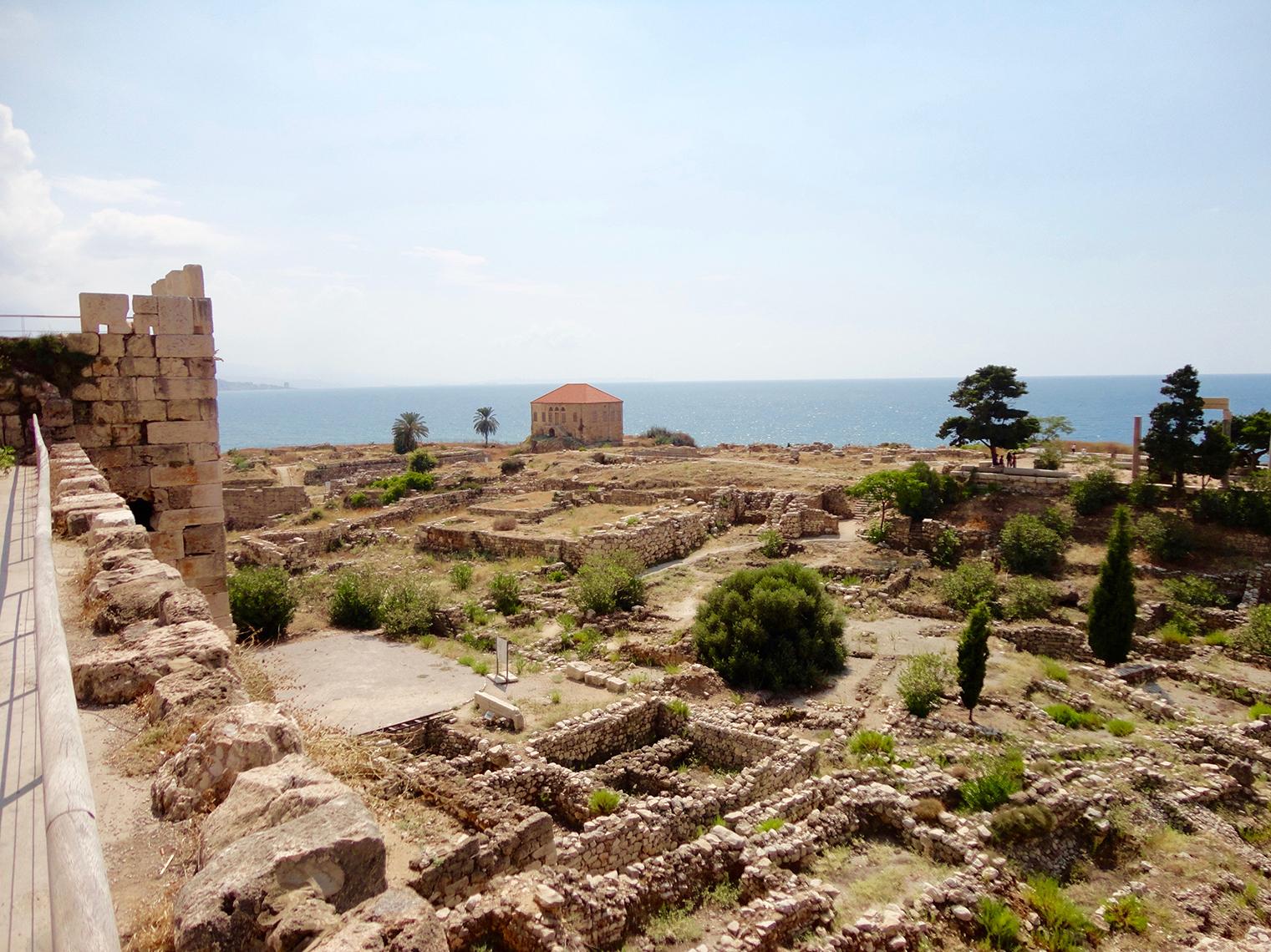 Byblos ancient city ruins Lebanon