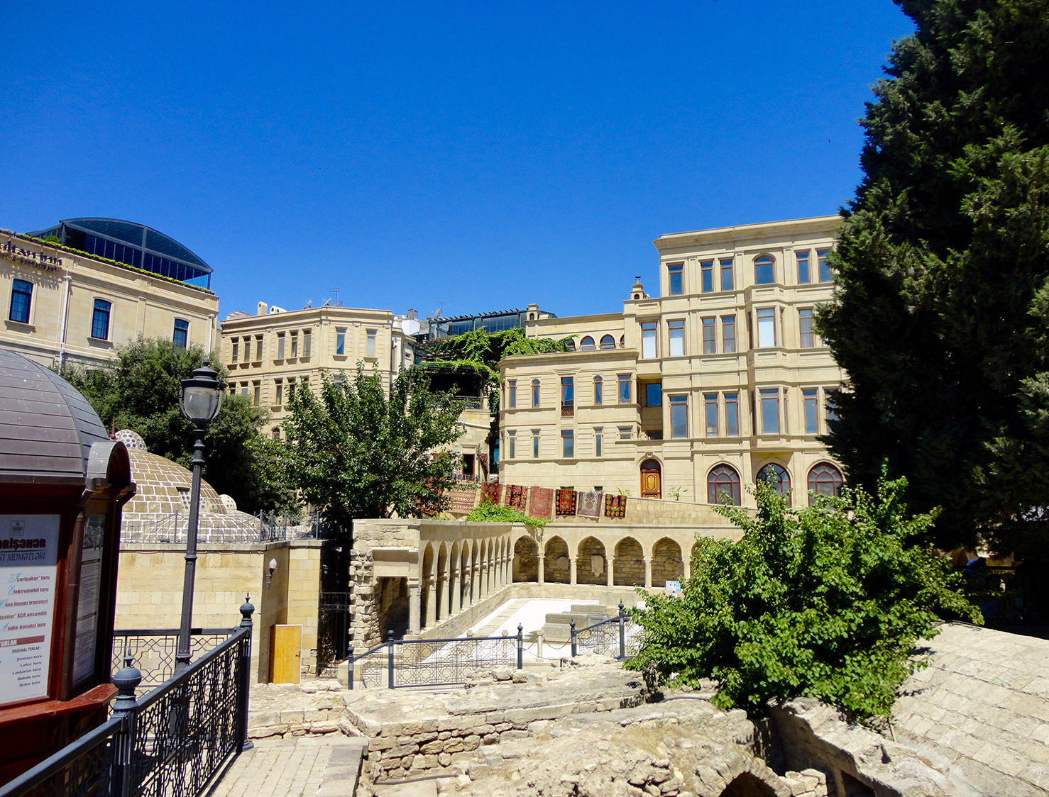 Historical Old City Baku Azerbaijan